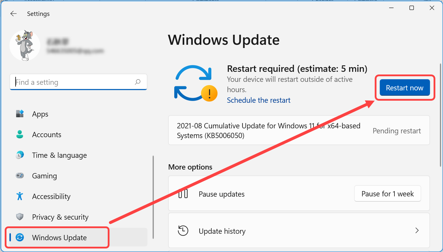 Update Windows 11 to Latest Version