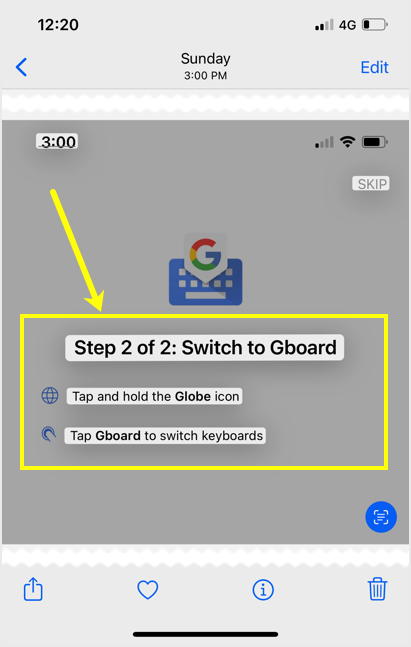 Text Highlighted on Image
